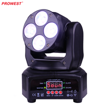 Cheap Mini 4X8W RGBW 4in1 Moving Head Light Wash LED DMX light 16ch