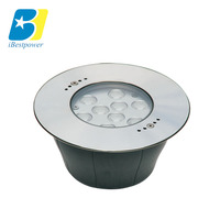Stainless steel color changing IP68 dmx512 controllable led underwater fountain light for pool swimming