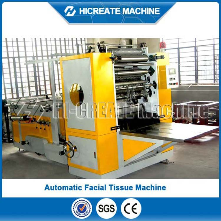Drawing Type Folding Facial Tissue Machine, Face Paper Machine