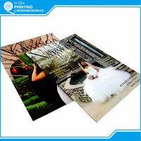 Top quality magazine printing with low price in Shanghai