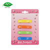 Popular colorful plastic clips jewelry hair barettes for young girls