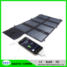High Quality Folded Solar Panel/ Charger 18v/5v 80W Folding Backpack Solar Power Bank for Mobile Phones iPhone Laptop