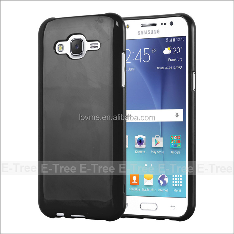 Wholesale Jelly Glossy Silicon Tpu Cover Case For Samsung J5