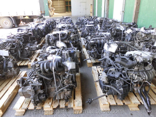Used ENGINES complete, full stripped For European Cars year 2003->