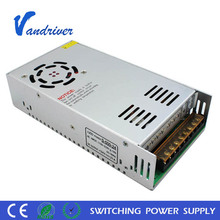 High Quality 500W 24V SMPS Standard 12V Single Output LED Driver Switching Power Supply with 5 years warranty CE ROHS certificat