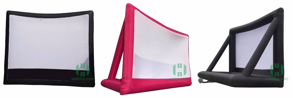 HI fashion and hat saled inflatable movie screen for sale,China free movie led screen,outdoor movie screen for sale