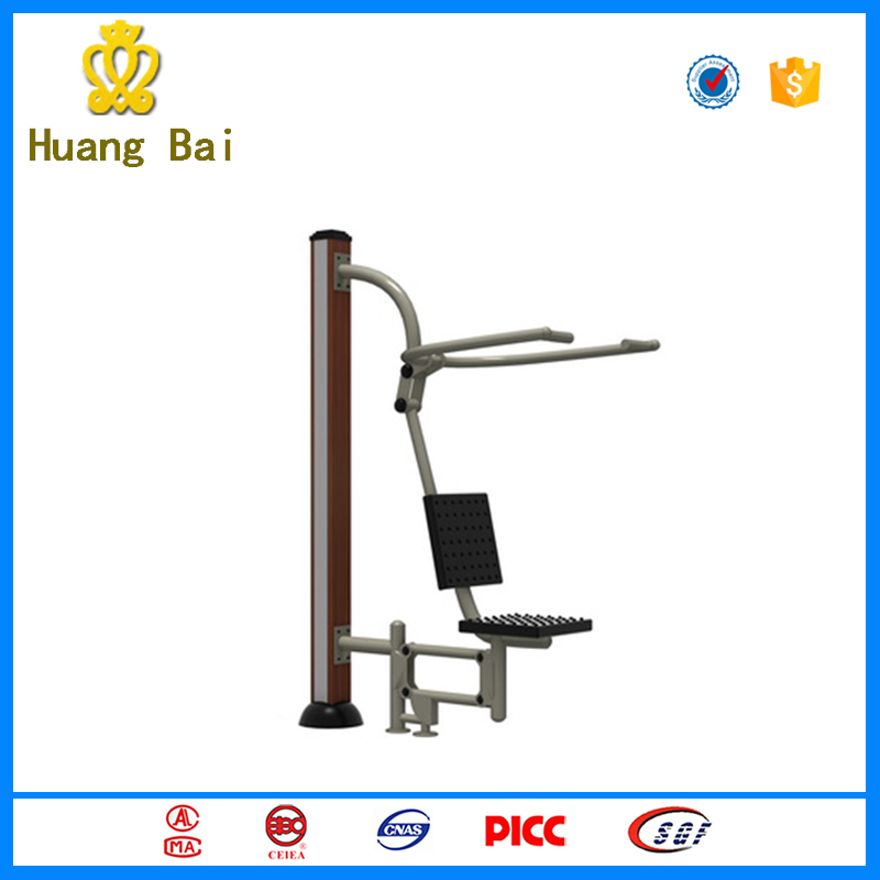 new design outdoor exercise equipment WPC seated push machine