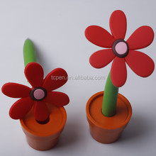2015 novelty flower shaped pen