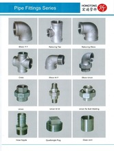 Hongtong stainless steel Hose Nipples pipe fitting jobs