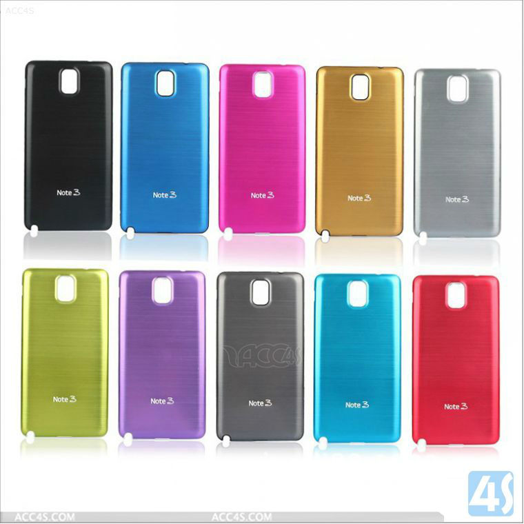 Metal Aluminium Alloy Frame Drawing Back Case for New SAMSUNG Galaxy Note 3 N9000 P-SAMN9000HC002