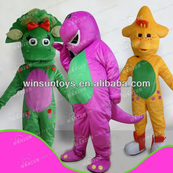 Popular sale barney and friend costumes