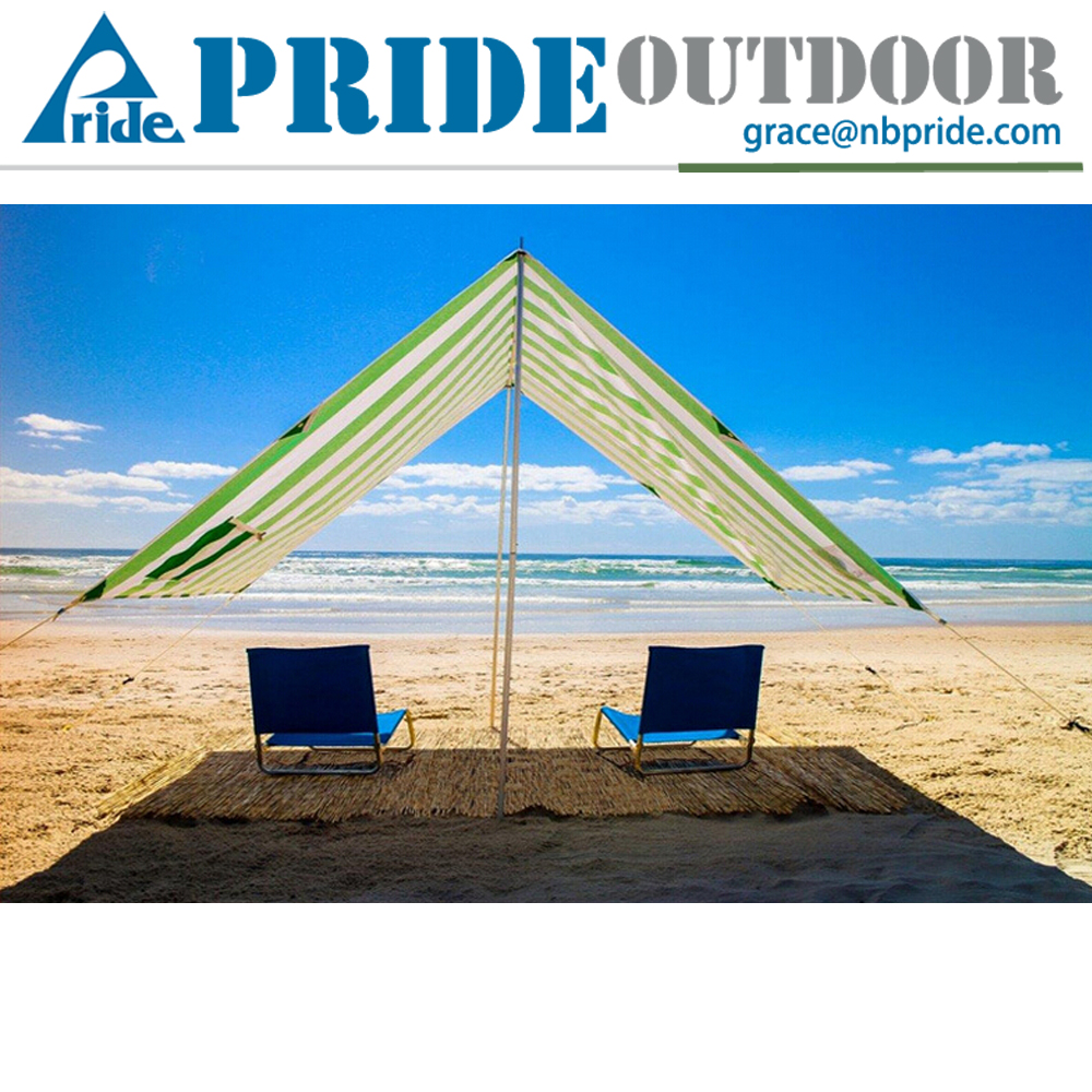Ultralight Family Travel Camping Essential Outdoor Sport Tarp Shelter Portable Beach Tent