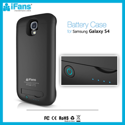 Wholesale For Galaxy S4 MINI Power Case 3000mAh With Kickstand