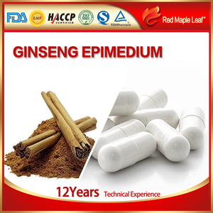 Man's Strong Pills Epimedium Extract Powder American Ginseng Capsules