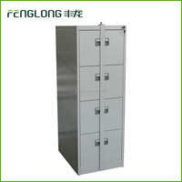 Fenglong New Design Lock Bar 4 Drawer Steel Cabinet, 4 Drawer Filing Cabinet