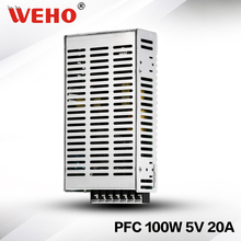 PFC function switching model power supply 100W 5V 20A