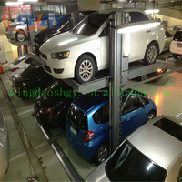 Elevator car parking lift Two post design and CE certification car parking lift