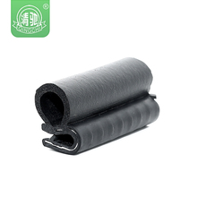 heat resistance extruded car sunroof rubber seal for volvo