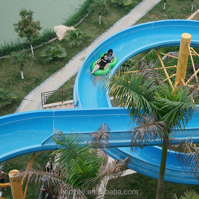 Widely Used Water Slide For Water Park Rides For Sale