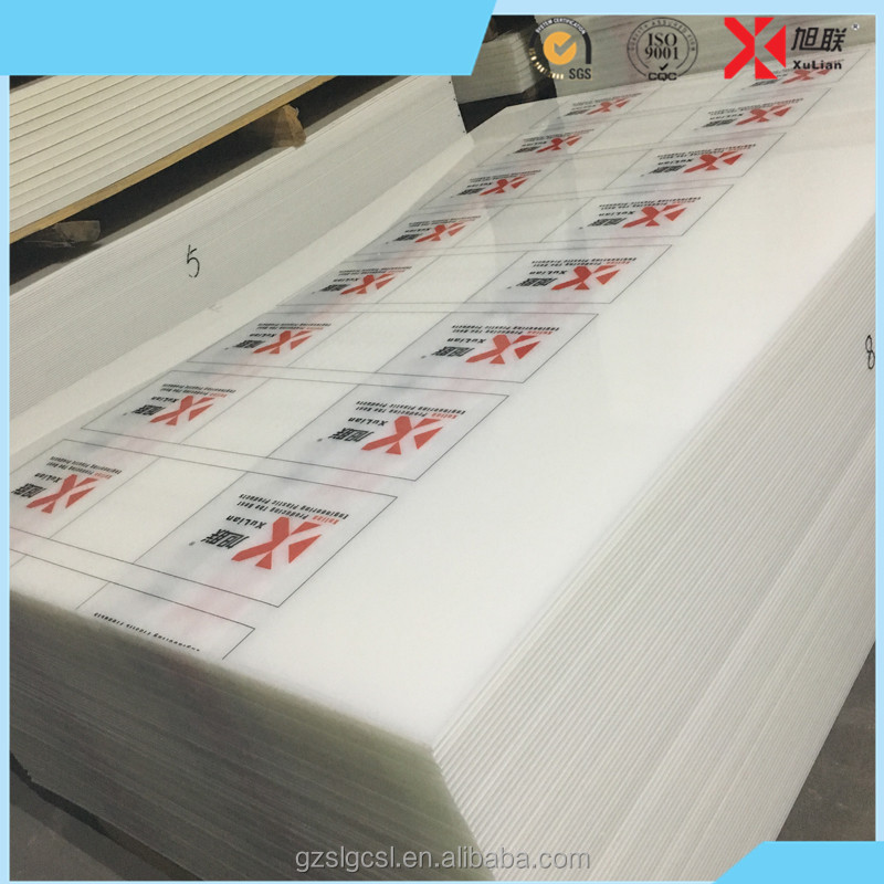 High Quality Transparent Colored PP Sheet Plastic