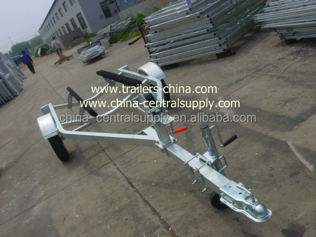Manufacturer and Factory Supply Off road axle galvanized 3.7m Jet ski trailer CT0067B
