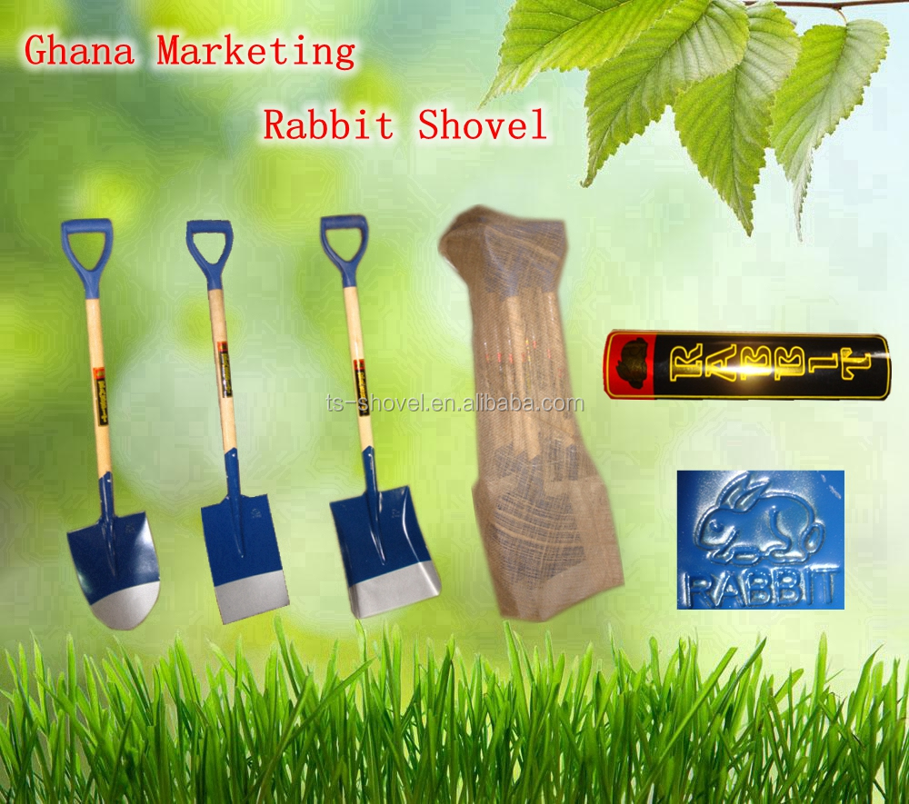 farming tools wooden handle shovel