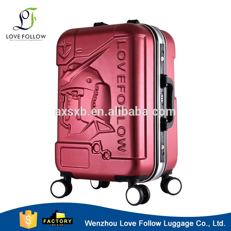 New product colorful abs trolley eminent luggage