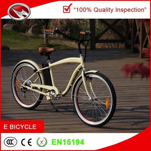beach cruiser cheap electric bike for sale with 500W motor