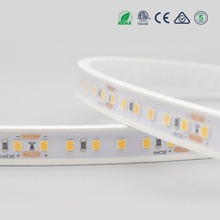 Factory direct double color silicone-tube IP67 waterproof led strip outdoor