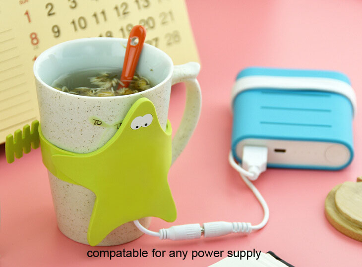 USB cup warmer/USB coffee cup warmer/cup heater/silicone cup warmer