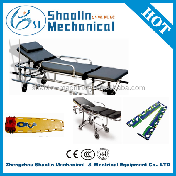 Hot Sale portable stretchers/plastic scoop stretcher with best service