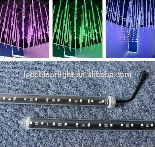 Hot selling vertical dmx 3D LED tube laser tube for nightbar 360view degree 3d effect