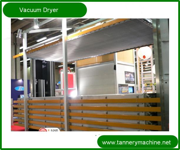 leather vacuum dryer for tannery