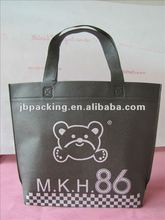 2012 non-woven handle bag for shopping /soft loop handle