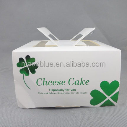 bespoke cupcake box , 4 pack mini cupcake boxes , square cake box with window