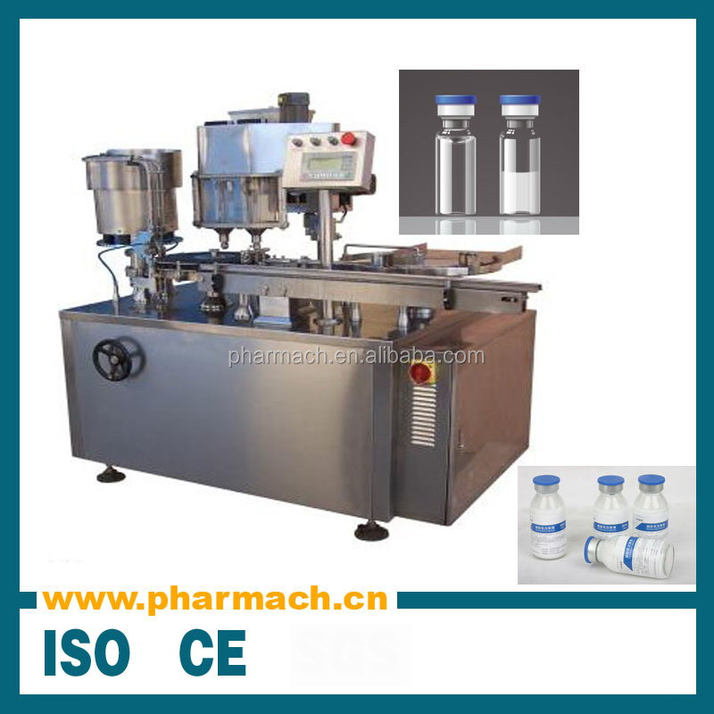 Factory price high quality automatic aseptic injection vial powder filling machine