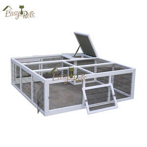 Factory direct supplier Industrial wooden Rabbit cage farming for sale