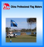Advertising Golf Flags Sale,Mini Golf Flags NO MOQ