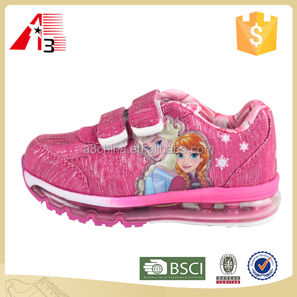 customize kids girl fashion sport shoes