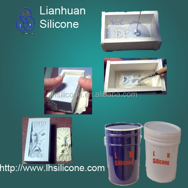 Liquid silicone rubber for making moulds