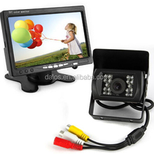 "7"" LCD Rearview Mirror Car Monitor + HD Wireless Car Rear View Camera Kit"