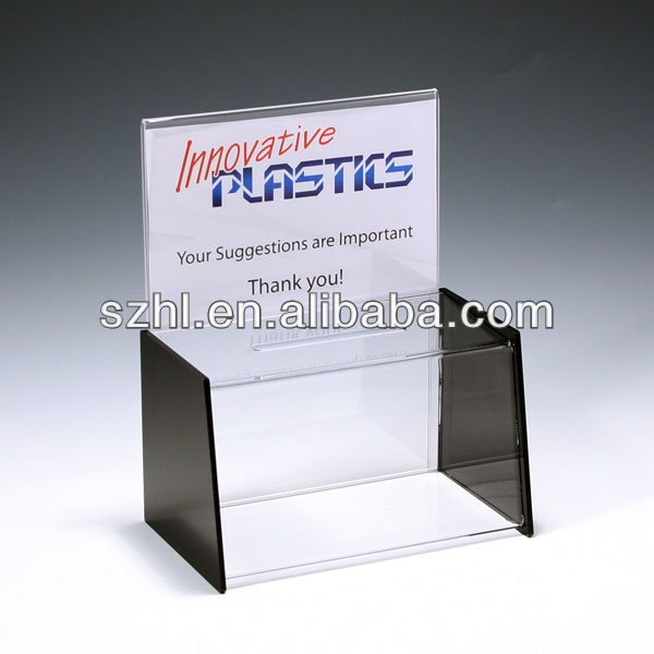 Manufacturing and cheap acrylic box stand for suggestions