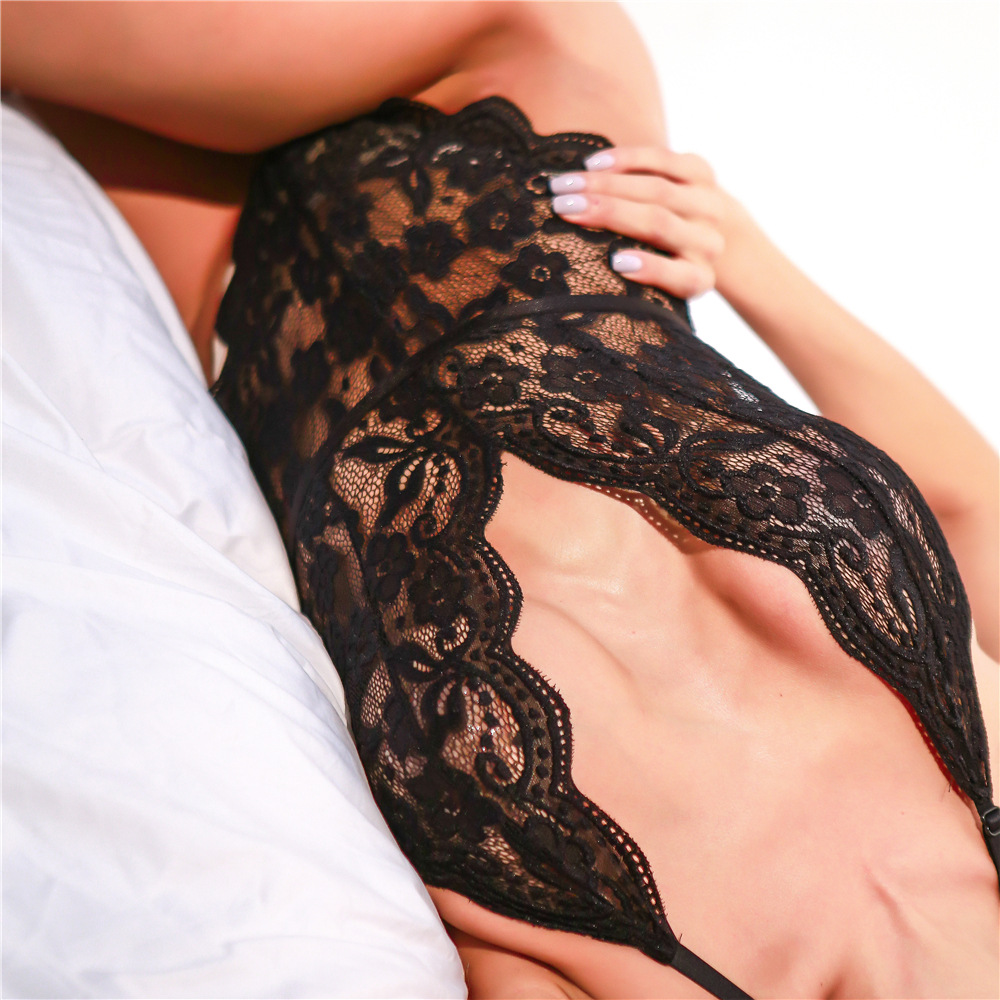 Top Selling Black Lace Corset Evening Dress Bustier For Ladies