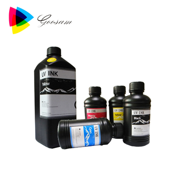 Goosam ceramic inkjet UV printing ink for glass printing ink uv ink