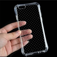 Slim Thin Clear Transparent TPU Soft Dot Back Case For iPhone 6 4.7