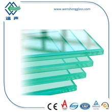 5mm 6mm 8mm 10mm 12mm 15mm 19mm Tempered Glass for Commercial Buildings