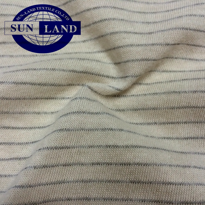soft underwear cloth anti-static pure cotton jersey fabric for garment