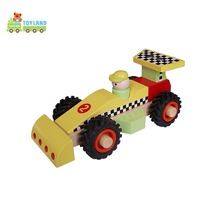 Novelty Gifts Eco-Friendly Simulation Birch Wood Magic Toy Car