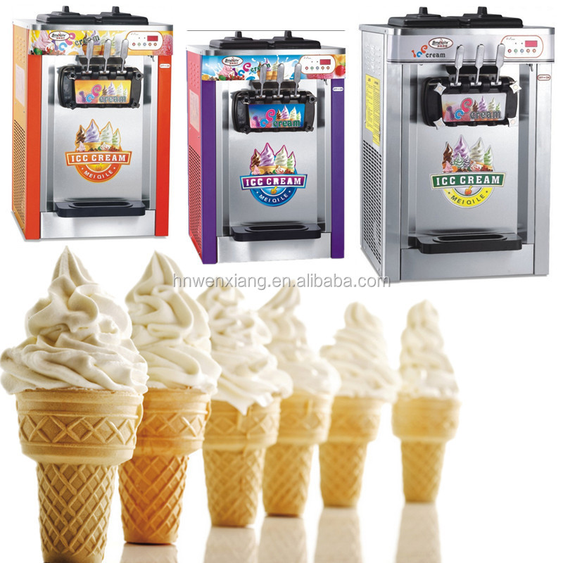 18L 3 flavors used soft serve mcdonald's soft ice cream machine