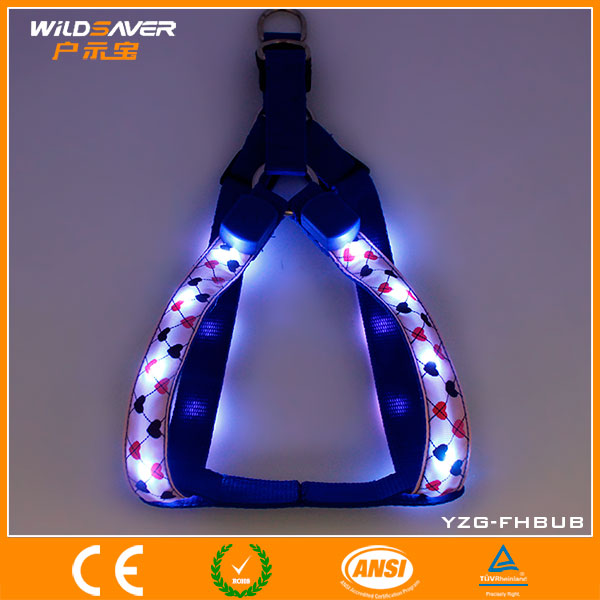 New price safety costume led high-end dog harness